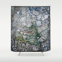plant Shower Curtains featuring plant by gasponce