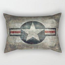 Air force Roundel v2 Rectangular Pillow