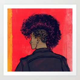 Punx (Reduced price for the Punx!) Art Print