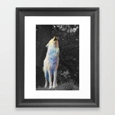 Howl Framed Art Print