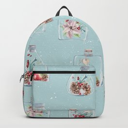 Christmas Pattern Mint Backpack