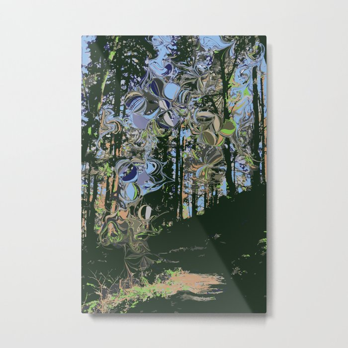 Out of the Woods Metal Print