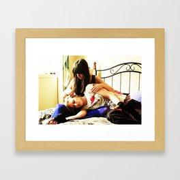 Lily & Lani Framed Art Print