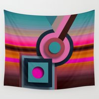 candy Wall Tapestries featuring Candy by nikki-e