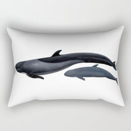 False killer whale Rectangular Pillow