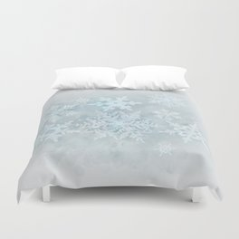 Snow is coming Duvet Cover