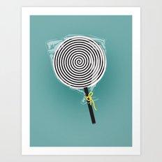 HypnoPop Art Print