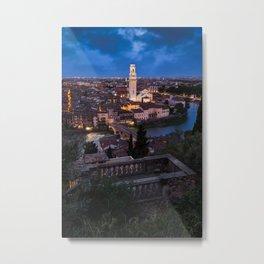 View from Castel San Pietro Metal Print