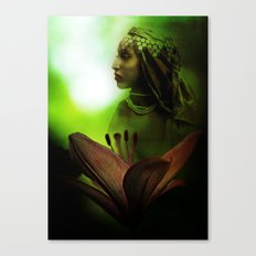 In the Secret of Your Glance Canvas Print