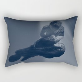 buddha monochrome Rectangular Pillow