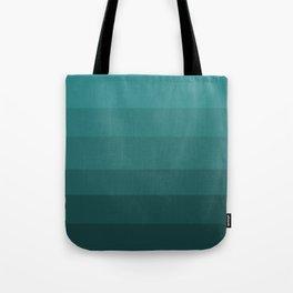 Winter Dark Blue Turquoise Tote Bag