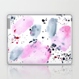 Indigo love || watercolor Laptop & iPad Skin
