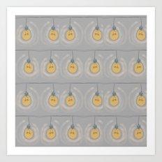 String of light Art Print