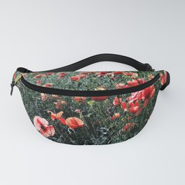 Poppies In A Field Fanny Pack