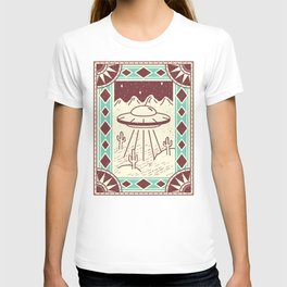Alien in the Desert T-shirt