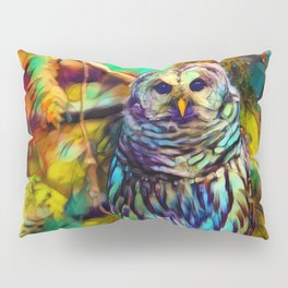 Barred Owl - As Deep as Forever Pillow Sham