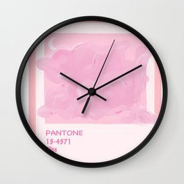 Pantone Bliss Wall Clock