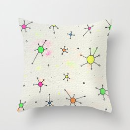 ladies and gentlemen we are floating in space Throw Pillow