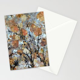 A Winter Collage Stationery Cards