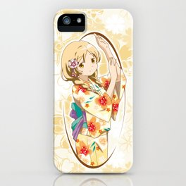 Mami Tomoe - Yukata edit. (rev. 1) iPhone Case