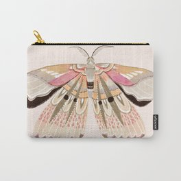 Grace Moth Blush Carry-All Pouch