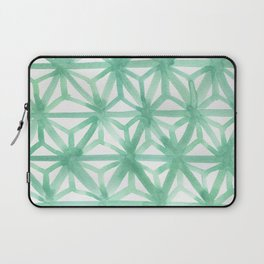 Mint Asanoha Laptop Sleeve