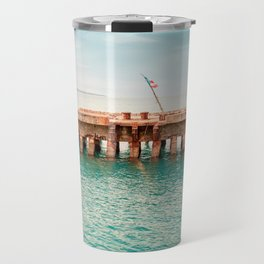 Crash Boat Beach Travel Mug
