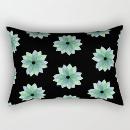 Geo Spring Flowers 04 Rectangular Pillow