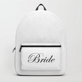 Bride - white Backpack