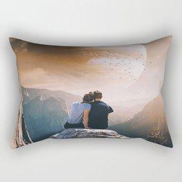 A Weird Planet Rectangular Pillow