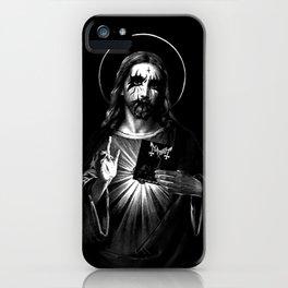 Kvlt Jesus Christ iPhone Case
