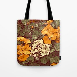 Orange Geranium, Plant of Feminine Healing Tote Bag
