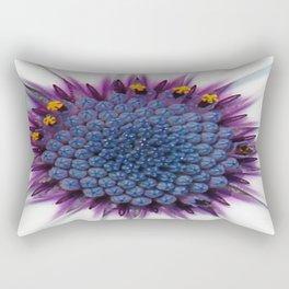 Stunning African Daisy Tropical Flower Macro Rectangular Pillow