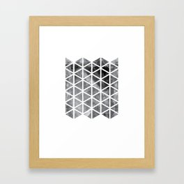 GEOMETRIC SERIES I Framed Art Print