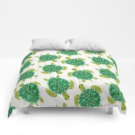 Sea Turtle – Green Palette Comforters