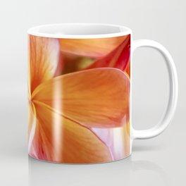 Orange Plumeria Coffee Mug