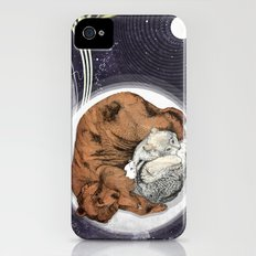 Moon iPhone (4, 4s) Slim Case