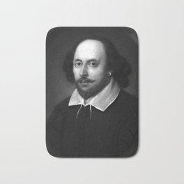 William Shakespeare Bath Mat