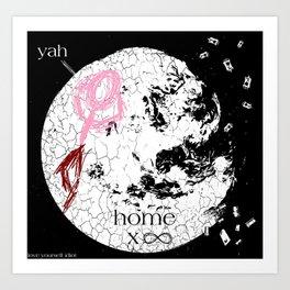 home x infinite Art Print