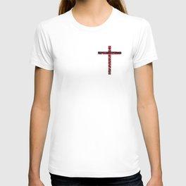 Frances Biblical ART CROSSES BEAUTY T-shirt