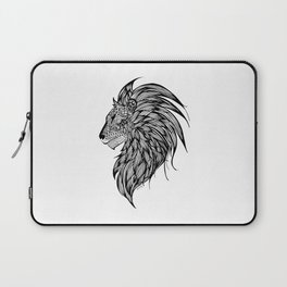 Lion Illustration Laptop Sleeve