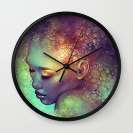 Camouflage Wall Clock