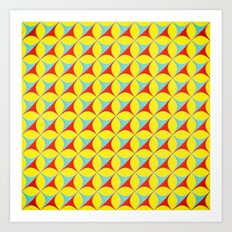 Irritating Pop Pattern Art Print