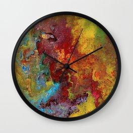 Color Fantasy Wall Clock