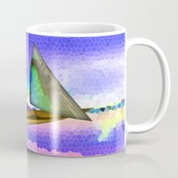 sailing Mugs featuring Sailing by Digital-Art