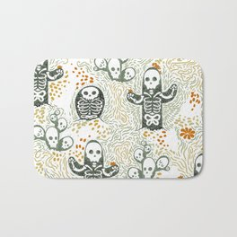 Skeleton Cacti Bath Mat