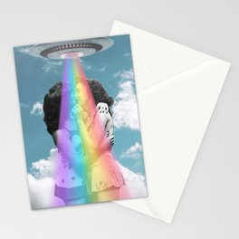 Love is love is love // Pride & UFOs Stationery Cards