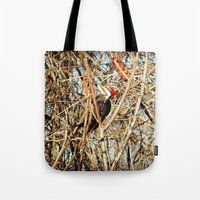 woody Tote Bags featuring Woody by DeLayne