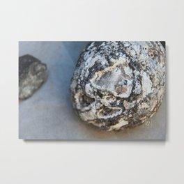 Stone Sphere Metal Print