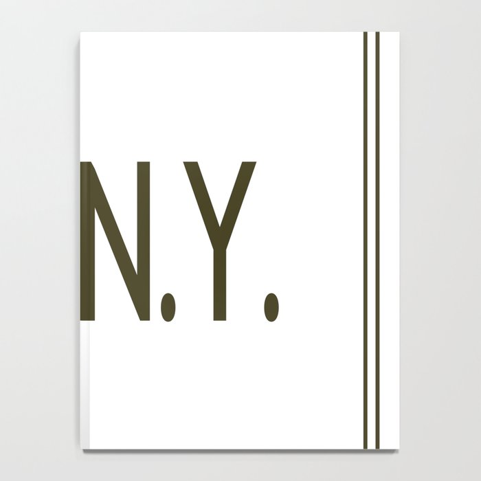Touch Of New York Notebook